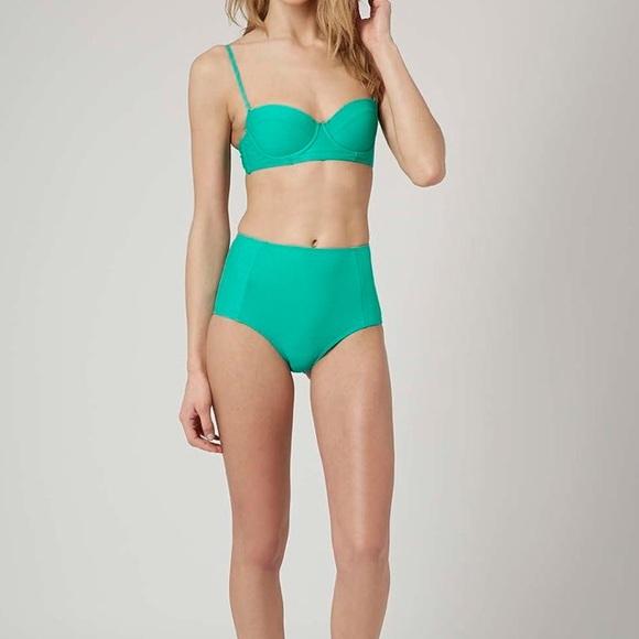 e88c7024ef Topshop Swim | Jade Green Highwaisted Bikini Bottoms | Poshmark