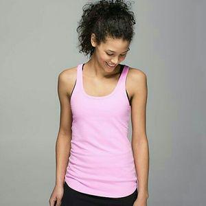 lululemon athletica Tops - NWT Lululemon Pink Studio Racerback