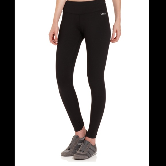 84e30e166d9f96 Calvin Klein Pants | Black Yoga Running Active | Poshmark