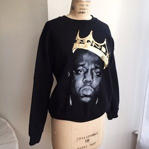 Urban Outfitters Tops - Biggie Sweatshirt from Urban outfitters Size Small