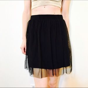 Topshop Dresses & Skirts - TOPSHOP TULLE MINI SKIRT #959