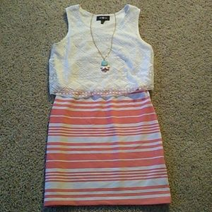 Amy Byer Other - Amy Byer Dress with Necklace