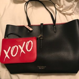 Victoria's Secret black purse