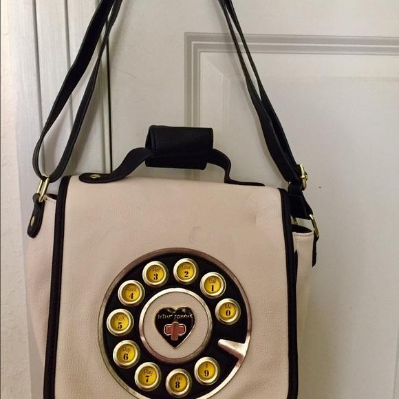 Funky designer purse by Betsey Johnson