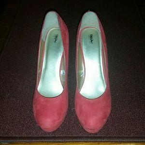 CORAL Platform Heels
