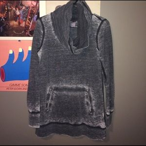 te verde Sweaters - Sweater with a scarf