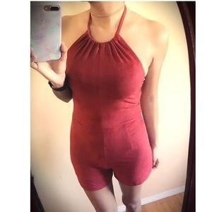 Other - Suede Romper