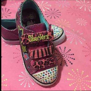Skechers Other - Skechers Sneakers Light Up girls Size 11