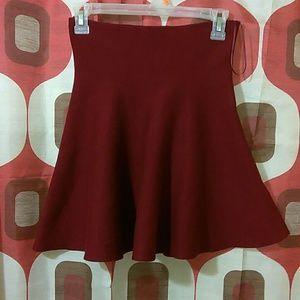 ZARA Knit Flare Skirt
