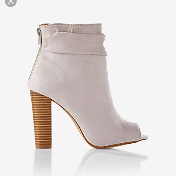 7a1b1d9e0d2b0 Kristin Cavallari Shoes - NWOT Express Peep Toe Bootie RESERVED  babekakes