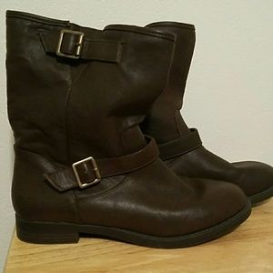 Nollie Shoes - Dark brown ankle boots size 8