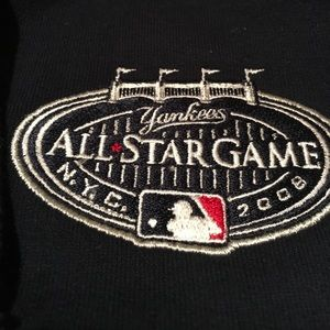 Antigua Jackets & Blazers - Baseball ⚾️ Yankees navy zip up hoodie