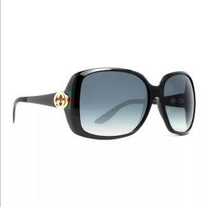 Gucci polarized sunglasses worn once
