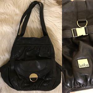 Kooba Handbags - Kooba Women's Black Leather Shoulder bag