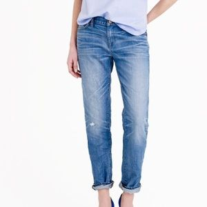 J. Crew Denim - J.Crew slim broken boyfriend
