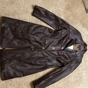 Wilsons Leather Jackets & Blazers - Brown leather coat