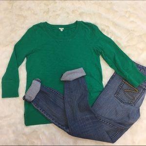 ✂️J. Crew 3/4 Sleeve Sweatshirt