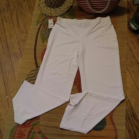968cf02a27a93 Pure Paradise Swim | Nwt White Cover Up Pant Resort Wear L | Poshmark