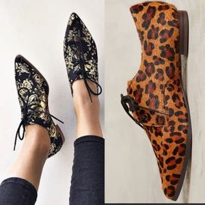 Anthropologie Shoes - Anthropologie Leopard Oxfords