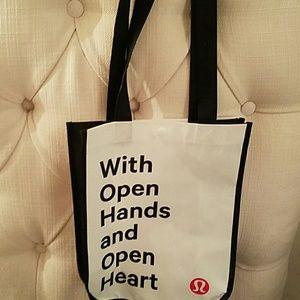 "lululemon athletica Handbags - SALE Lululemon Small ""Open Hands & Open Hearts"""