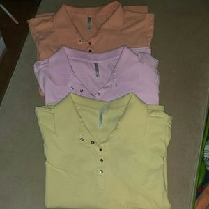 White Stag Tops - Set of 3 woman's polos