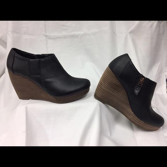 8f9c0fe2e5b Dr. Scholl s Shoes - Dr Scholls Black Wedge Booties