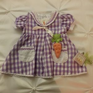 Bunnies by the Bay Other - Bunnies By The Bay Purple Plaid dress