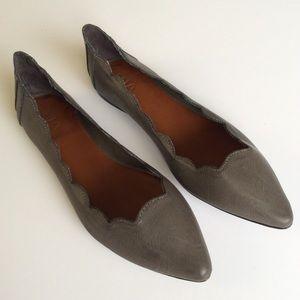 MIA Shoes - [MIA] Amari Scallop Trim Flats - Stitch Fix