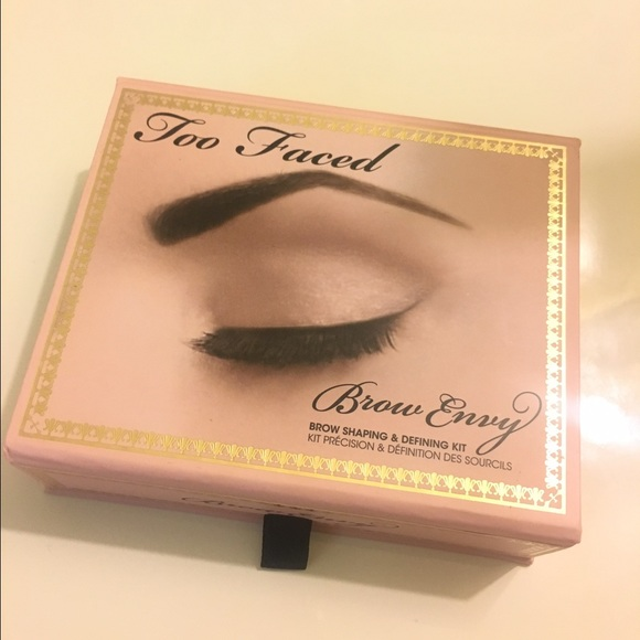 Too Faced Makeup Gently Used Brow Palette Poshmark