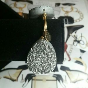 Bourbon and Bowties Jewelry - Bourbon Boweties Large Silver Druzy Bracelet