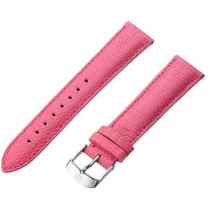 Michele Accessories - MICHELE 12MM PINK LIZARD WATCH BAND