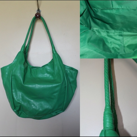 🎈SALE🎈Green Faux Leather Hobo Bag Purse OS from . suggested ...