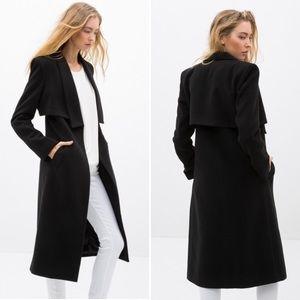 Gorg Black Trench Coat