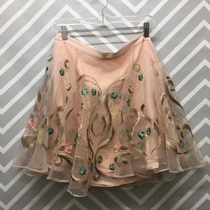 Dresses & Skirts - Amazing NWT Floral Petal Pink Skirt