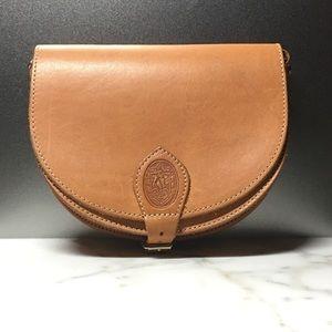 Unisa Handbags - UNISA Vachetta Saddlebag Crossbody Purse
