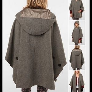 Anthropologie Jackets & Blazers - Anthropologie Spiewak & Sons Poncho Hooded Cape