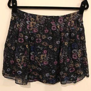 Charlotte Ronson Dresses & Skirts - ❗️FLASH SALE❗️Charlotte Ronson Floral Silk Skirt