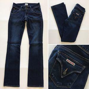 Hudson Jeans Denim - [Hudson] women's dark denim jeans 27