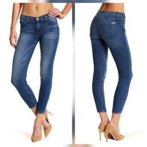 Hudson Jeans Denim - Hudson Krista Crop Super Skinny Jeans Everlasting