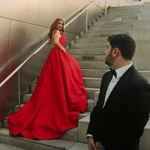 Terani Couture Dresses & Skirts - Terani COUTURE Red gown