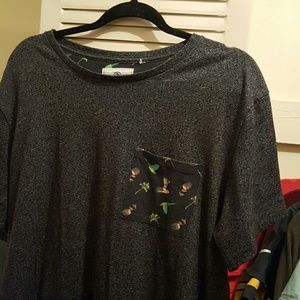 on the byas Other - Dark Gray ON THE BYAS T-Shirt Size L