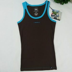 La Sportiv Tops - La sportiva desert brown tank top for climbers