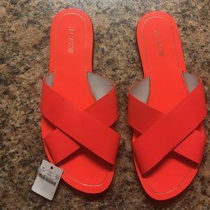 J. Crew Shoes - J.Crew || Cyprus Sandal - Coral