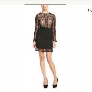 Dance and marvel black lace dress size medium