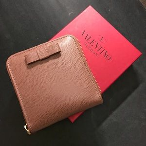 Valentino Handbags - NIB Valentino Leather Wallet