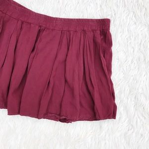 Brandy Melville Dresses & Skirts - • Brandy Melville • Maroon Skirt