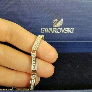 New in Box Swarovski Crystal Tennis Bracelet