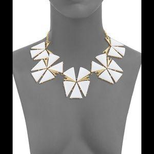 Trina Turk ego flowers statement necklace