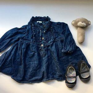 Ralph Lauren Other - Ralph Lauren Infant Denim Dress
