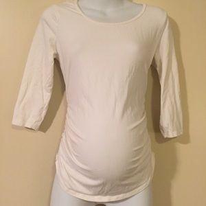 Motherhood Maternity Tops - White maternity top size small